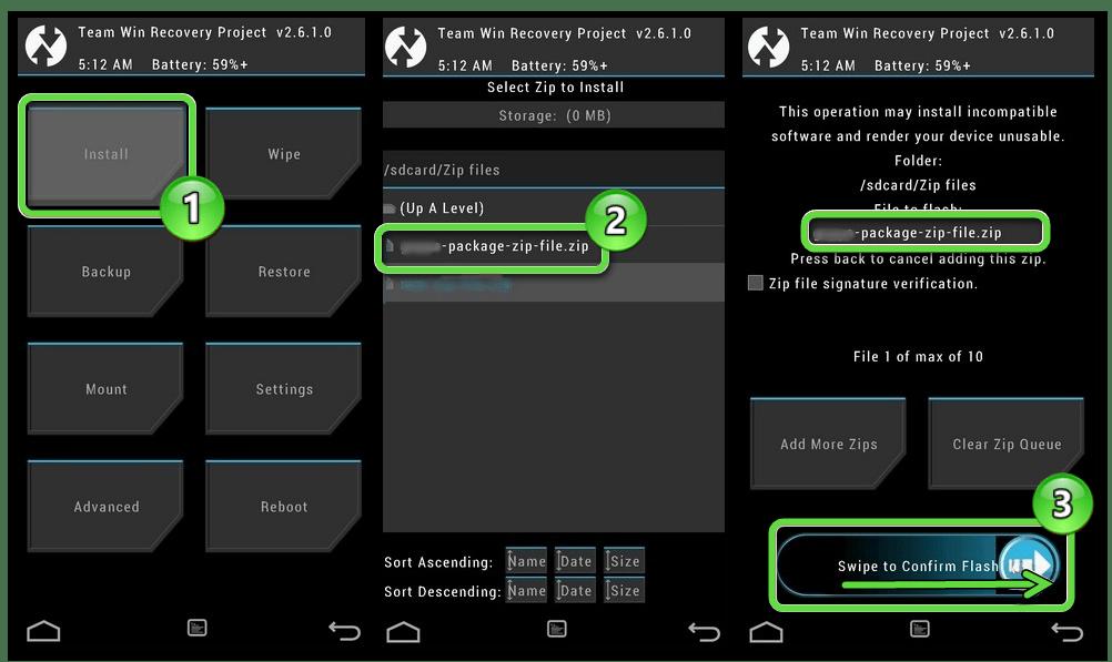 Обновление Google Play Маркета на мобильном устройстве с Android через TWRP