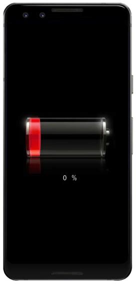 Перезагрузка Android-устройства путём ожидания полной разрядки его аккумулятора