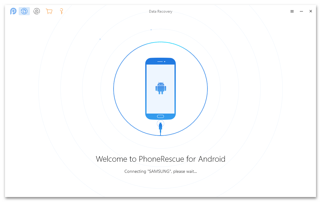 Сопряжение устройства samsung с PhoneRescue for Android