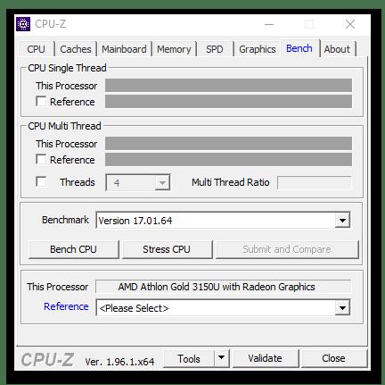 Идентификация железа компьютера с помощью программы CPU-Z