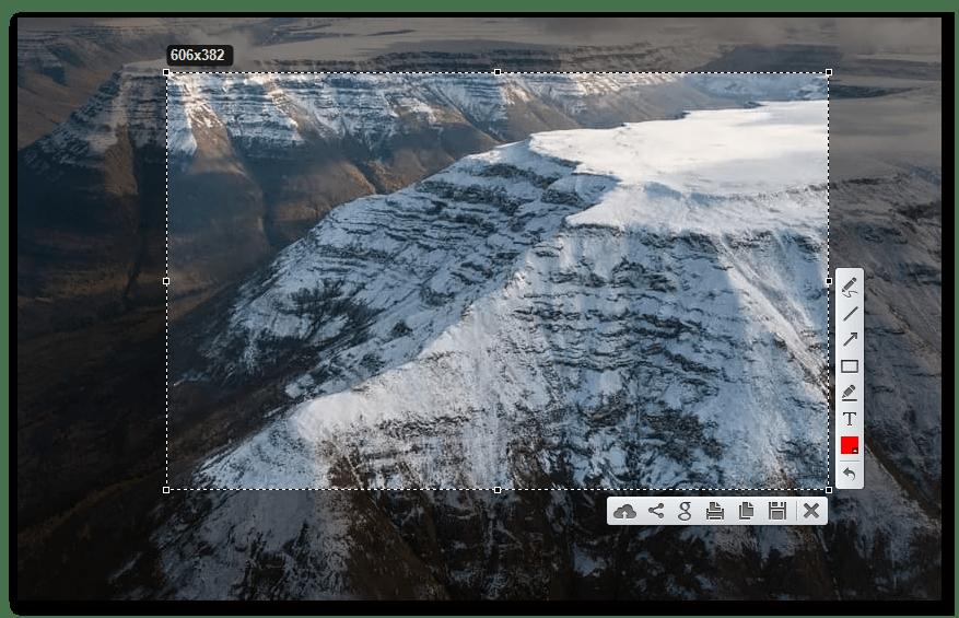 Захват экрана с помощью программы Lightshot