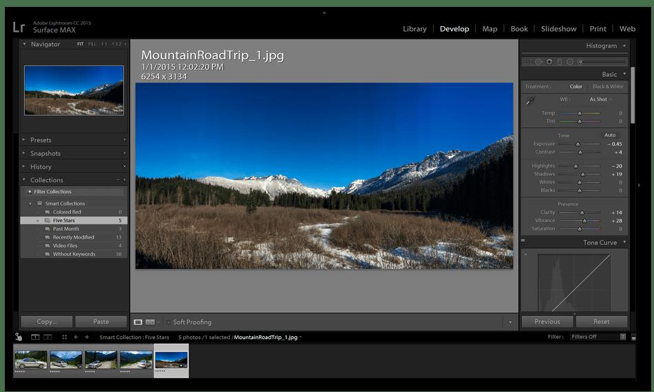 Использование программы Adobe Lightroom для обработки фотографий на компьютере