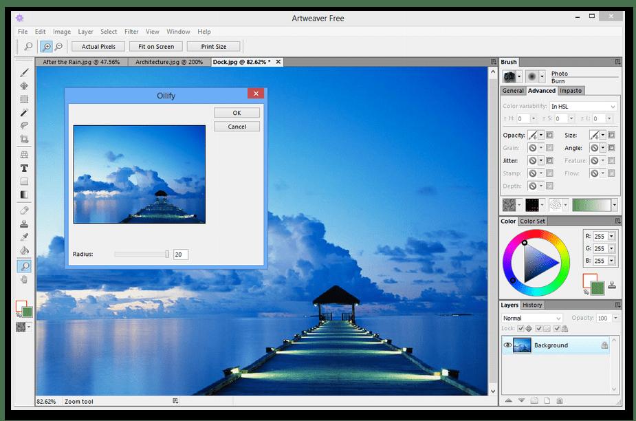 Использование программы Artweaver для рисования на компьютере