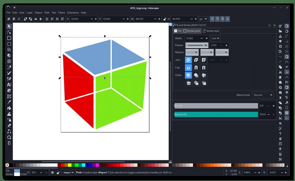 Использование программы Inkscape для обработки фотографий на компьютере