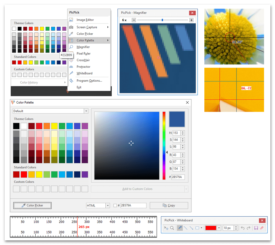 Использование программы PicPick для обработки фотографий на компьютере