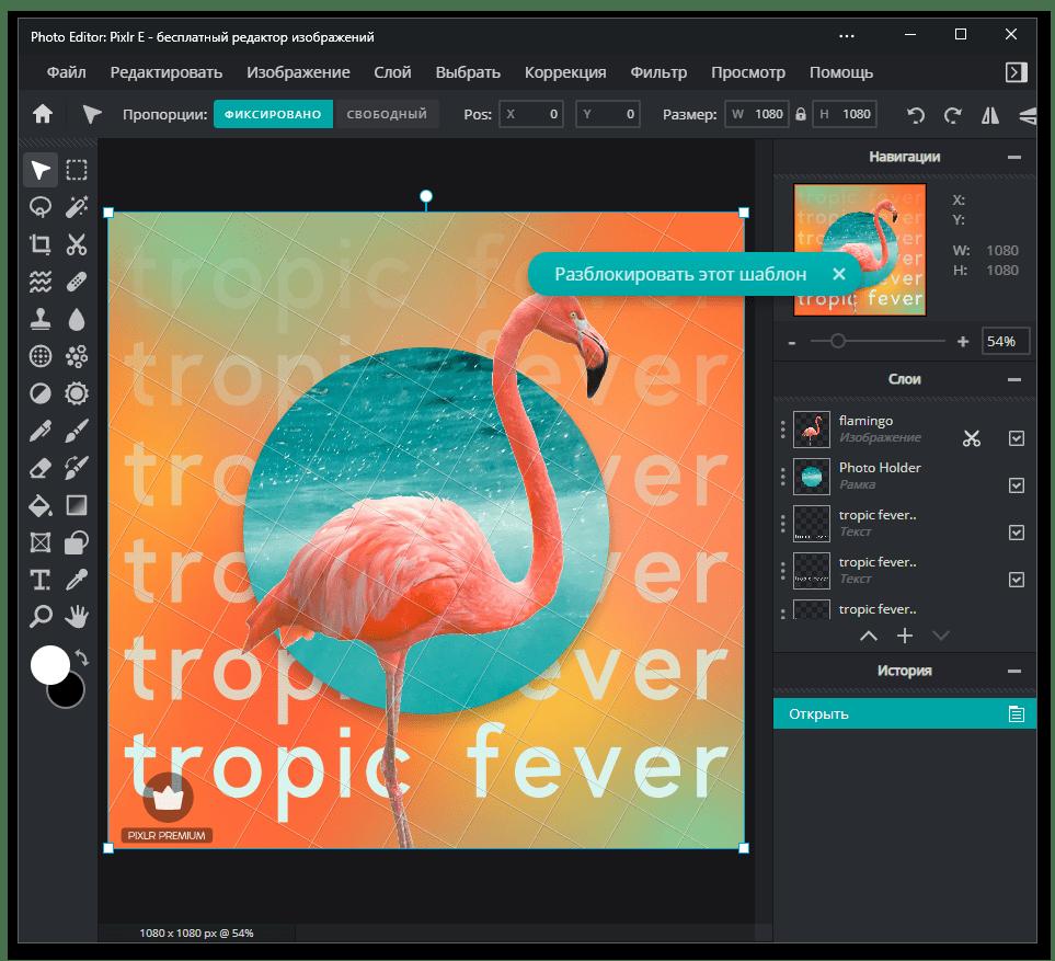 Использование программы Pixlr E для обработки фотографий на компьютере