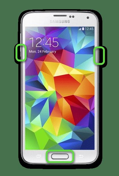 Как сделать скриншот кнопками на корпусе телефона Samsung с Android