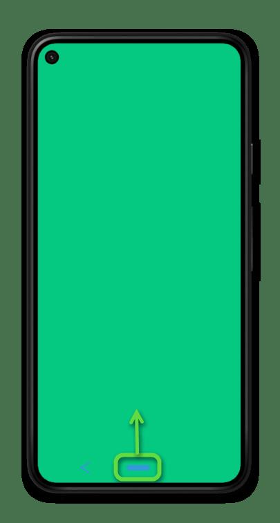Навигация с помощью двух кнопок на мобильном устройстве с ОС Android