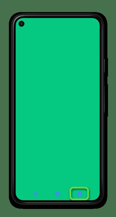 Навигация с помощью трех кнопок на мобильном устройстве с Android