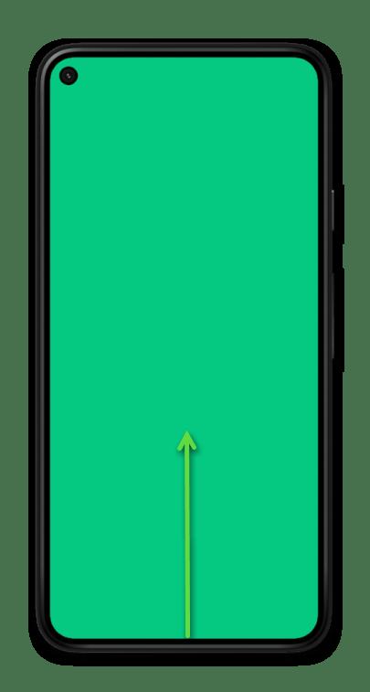 Навигация с помощью жестов на мобильном устройстве с Android