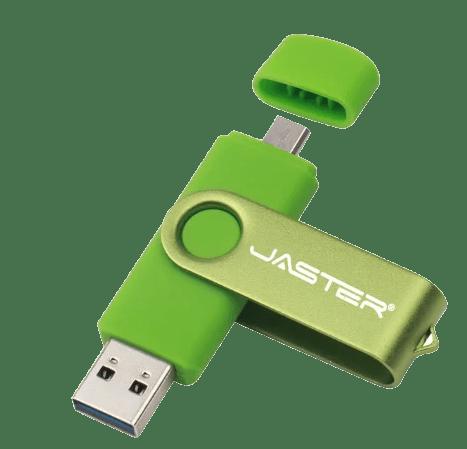 Второй тип подключения флешки по USB для скачивания музыки из Одноклассников на флешку на телефоне