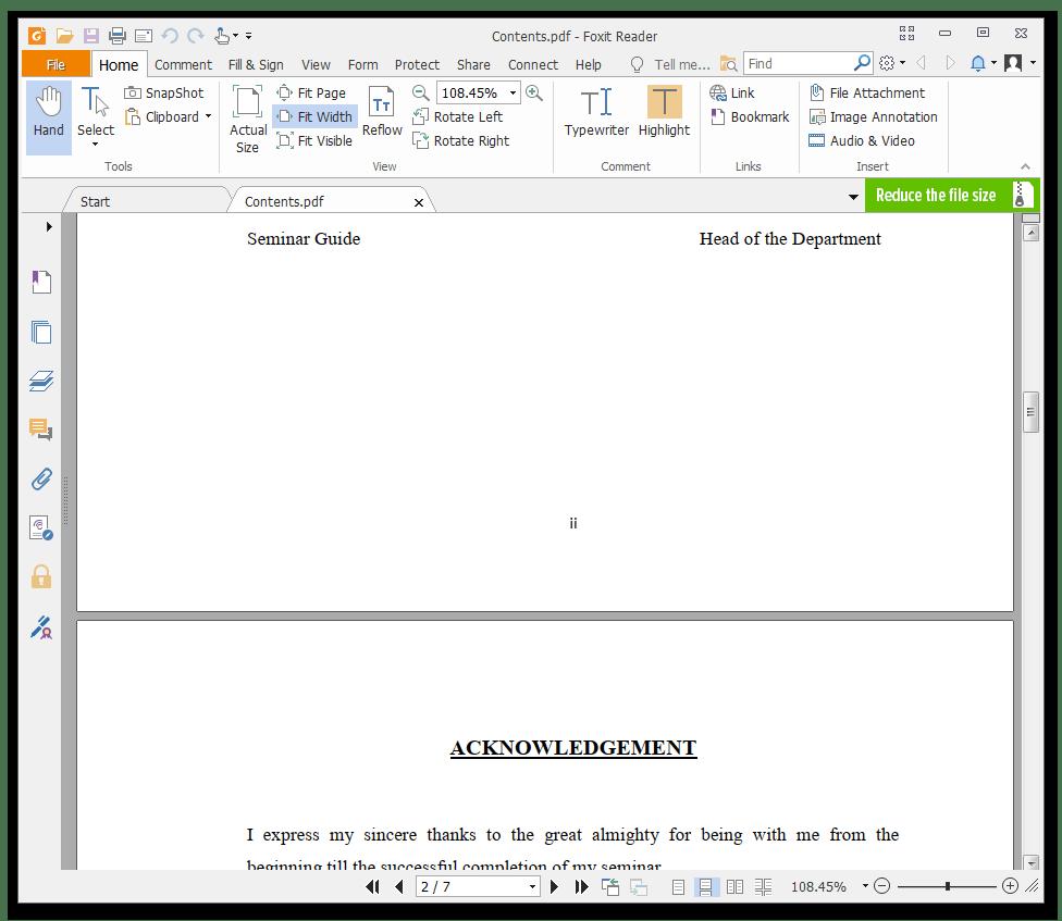 Использование программы Foxit PDF Editor для чтения PDF-файлов